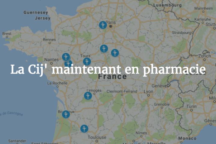 acheter cij en pharmacie