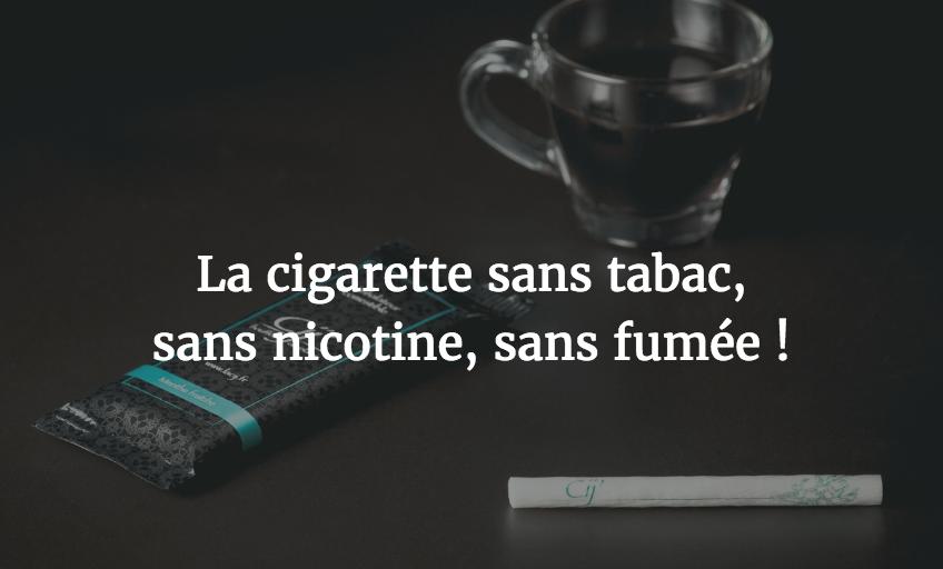 cigarette sans fumée sans tabac et sans nicotine